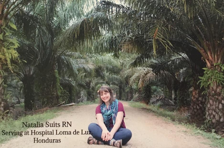 Natalia Suits - Sirviendo como enfermera en Honduras